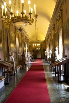 Uno dei corridoi