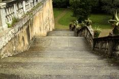 La scalinata, dove Fabrizio dichiara il suo spassionato amore per Elisa