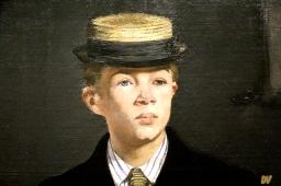 Dettaglio del nipote di Manet