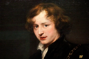 Anthonis Van Dyck - Autoritratto giovanile