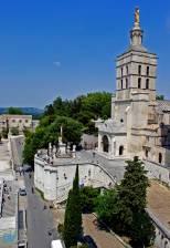 La veduta della Chiesa di Notre Dames des Doms.