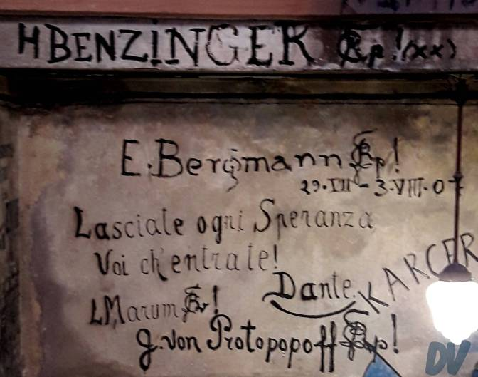 I luoghi della storia: lo Studentenkarzer di Heidelberg