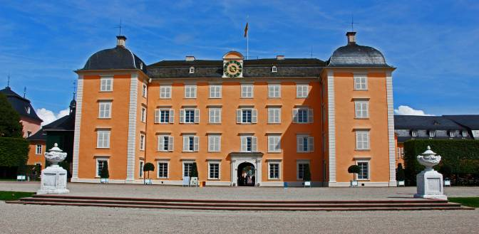 Un mese ad Heidelberg: il castello di Schwetzingen